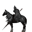 Dread Horseman (Mounted)