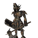 Bronze Axe Knight