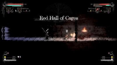Red Hall of Cages